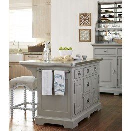 Dogwood Cobblestone Kitchen Island Set