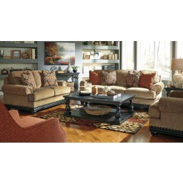 Elnora Umber Living Room Set