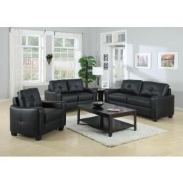 Jasmine Black Living Room Set - 50272