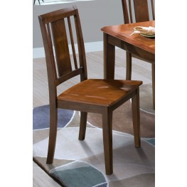 Latitudes Ginger/African Chestnut Vertical Panel Back Chair