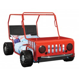 Casey Jeep Car Twin Size Bed