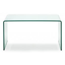 Caravan Clear Glass Desk