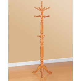 Oak Coat Rack 4059