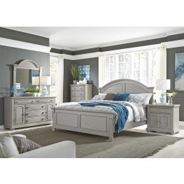 Summer House II Gray Panel Bedroom Set