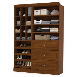 Versatile Tuscany Brown 61'' Storage Unit