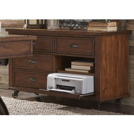 Arlington House Cobblestone Brown Credenza