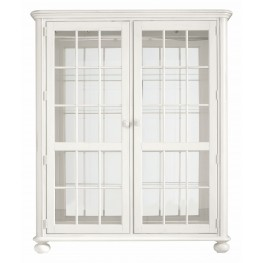 Coastal Living Saltbox White Newport Storage Cabinet