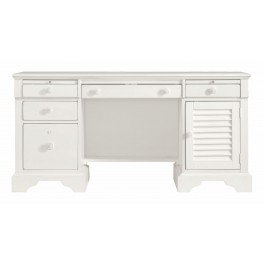 Coastal Living Saltbox White Computer File Desk