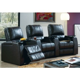 Playback Bonded Leather Home Theatre Seating
