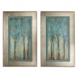 Whispering Wind Framed Art Set of 2