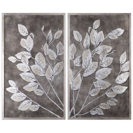 Money Tree Framed Art Set of 2