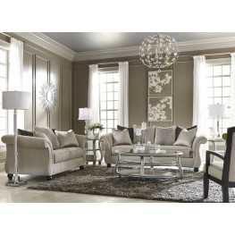 Coralayne Silver Occasional Table Set