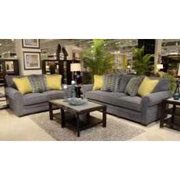 Anniston Carbon Living Room Set