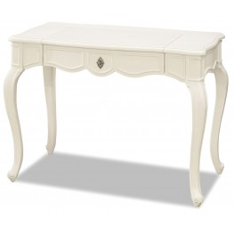 Genevieve French White Vanity Desk