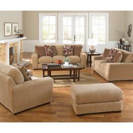 Prescott Oatmeal and Brick Living Room Set