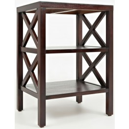 Burbank X Side Accent Table