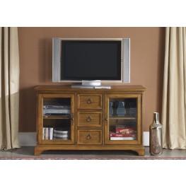 Beacon Oak 54 Inch TV Console