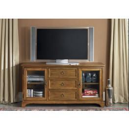 Beacon Oak 64 Inch TV Console