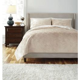 Patterned King Comforter Set
