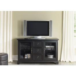 Beacon Black 54 Inch TV Console