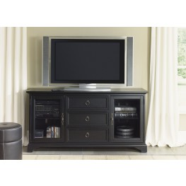 Beacon Black 64 Inch TV Console
