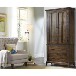Mill Creek Rustic Cherry Armoire