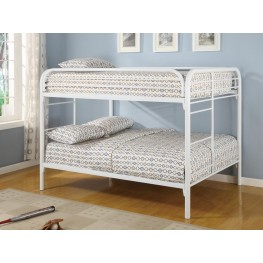 Fordham White Full Over Full Bunk Bed