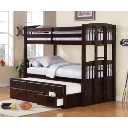 Logan Twin Over Twin Bunk Bed
