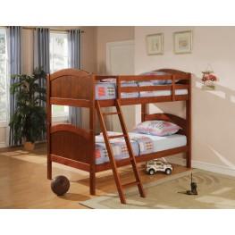 Bunks DarkPine Twin Over Twin Bunk Bed 460203