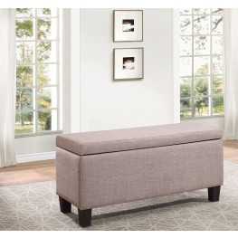 Felicia Brown Lift Top Storage Bench