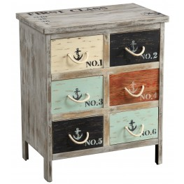 Six Drawer Chest 46293