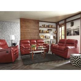 Tassler Durablend Crimson Living Room Set