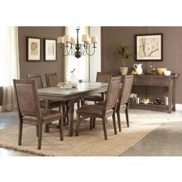 Stone Brook Trestle Extendable Dining Room Set
