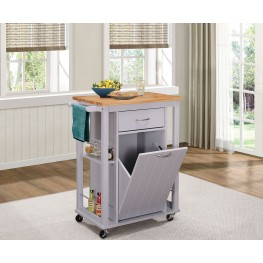 Arbor Gray Kitchen Cart