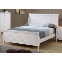 Selena Full Sleigh Bed