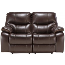 Pranas Brindle Power Reclining Loveseat