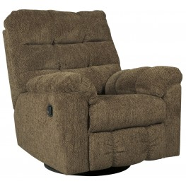 Antwan Truffle Swivel Rocker Recliner