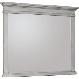 Kearsley Mineral Gray Landscape Dresser Mirror