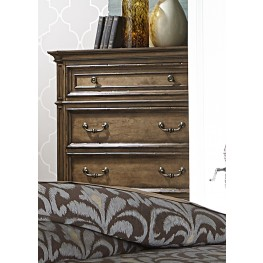 Amelia Antique Toffee 5 Drawer Chest