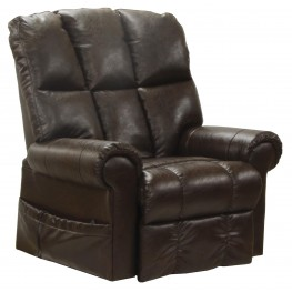 Stallworth Godiva Bonded Leather Power Lift Recliner