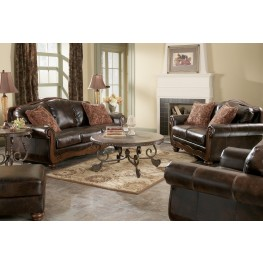Barcelona Antique Living Room Set