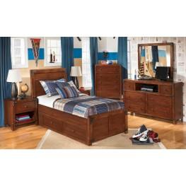 Delburne Youth Panel Storage Bedroom Set