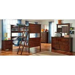 Ladiville Bunk Bedroom Set