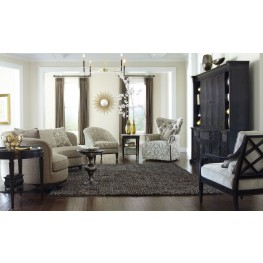 "Blair Fawn 101"" Kidney Living Room Set"