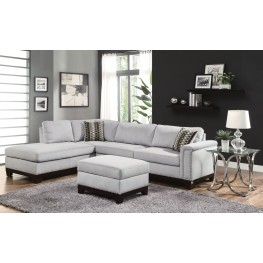 Mason Blue Grey Sectional