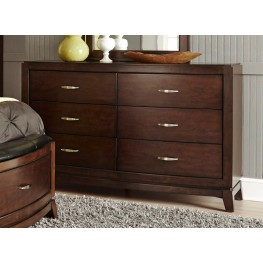 Avalon Truffle 6 Drawer Dresser
