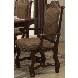 Thurmont Rich Cherry Arm Chair Set of 2