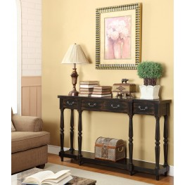 Four Drawer Console Table 50686