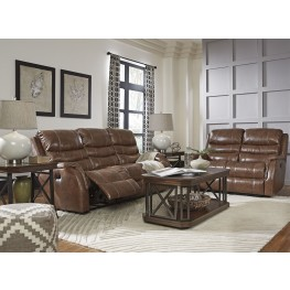 Metcalf Nutmeg Power Reclining Living Room Set Part 53