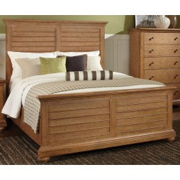Pathways Sandstone Queen Panel Bed